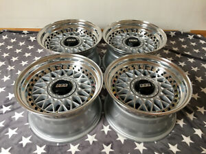 Bbs Rm 012 Wheels 15 4x100 Bmw E30 Vw Golf Mk1 Mk2 Mk3 Gti Rabbit Jetta Rc Rs