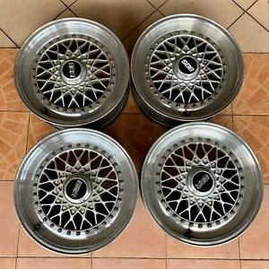 Rare Item Genuine Bbs Rs 003 Wheels Rims 16x7 4x100 Bmw E30 Vw Golf