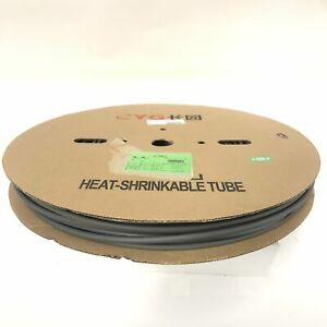 Thermosleeve Cyg Hst14330 Gray 1 4 2 1 Heat Shrink 330 Foot Roll