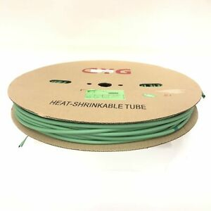 Thermosleeve Cyg Hst14330 Green 1 4 2 1 Heat Shrink 330 Foot Roll