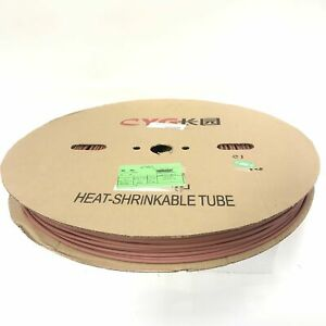 Thermosleeve Cyg Hst18330 Brown 1 8 2 1 Heat Shrink 330 Foot Roll