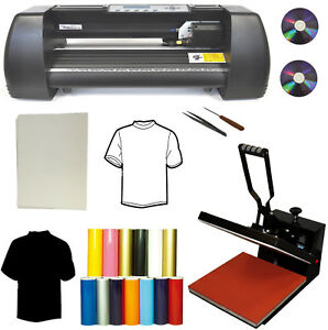 14 500g Metal Lase Vinyl Cutter Plotter 15x15 Heat Press transfer Paper vinyl