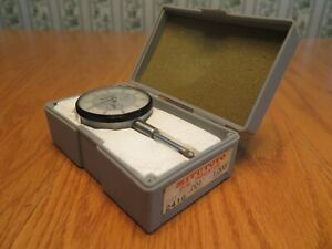 Mitutoyo Dial Indicator No 2416 001 1 000 With Case