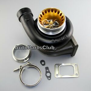 Gt3582r Anti surge Turbo Dual Ball Bearing A r 63 T3 Flange Air Inlet 4 Vband