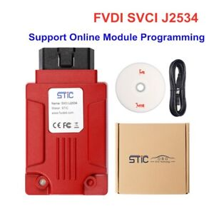 V119 Svci J2534 Diagnostic Tool Fit For Ford Mazda Online Module Programming