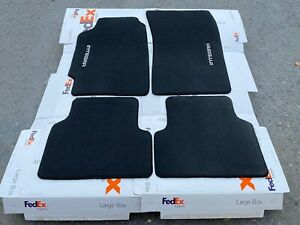 For 1990 93 Acura Integra Floor Mats Carpet Charcoal Black 4pcs Fits 2dr 4dr