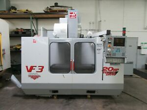 Haas Vf 3b Cnc Vertical Machining Center For Sale