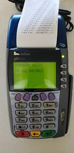 Verifone Omni 3750 Credit Card Terminal With Chip Reader And Power Supply