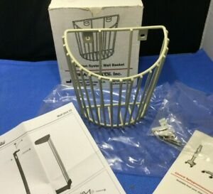 New In Box W a Baum 2420 Inflation System Wall Basket Nylon Coated Steel Kp