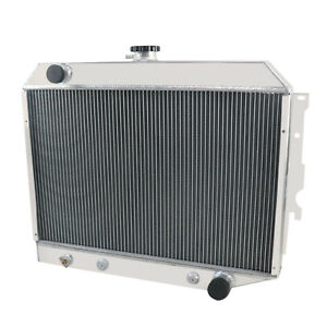 4 Row Radiator For 1968 1974 1969 1970 Dodge Challenger Plymouth Gtx Mopar V8