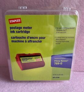 Staples E700 Postage Meter Ink Cartridge pitney Bowes Personal Post E700 E707