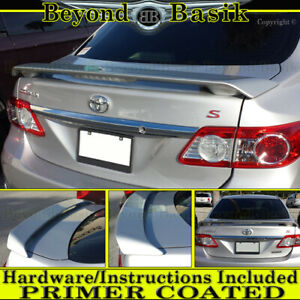 For 2009 2010 2011 2012 2013 Toyota Corolla Factory Style Spoiler led Unpainted