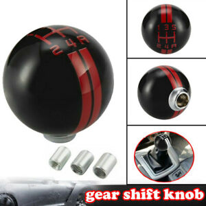 5 Speed Car Gear Shift Knob Ball Style Shifter Fit For Ford Mustang Shelby Gt500