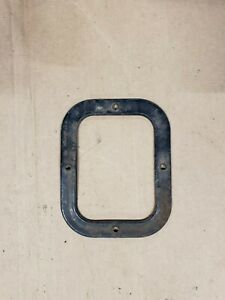 73 80 Chevy Gmc Truck Blazer Jimmy 4x4 Shift Boot Retaining Ring Trim Metal
