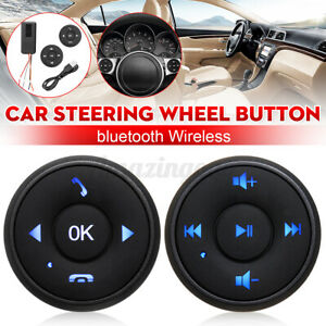 Universal Wireless Bluetooth Car Steering Wheel Remote Control Stereo Dvd Gps Us