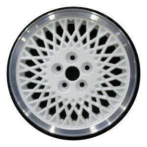 Wheel Rim Chrysler Plymouth Acclaim Lebaron Sundance Voyager 15 White Oe 1566