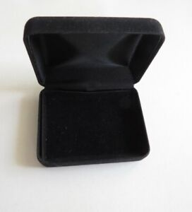 Black Velvet Jewelry Box For A Pendant Necklace