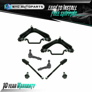 8pc Front Lower Control Arms Tie Rods Ball Joints For 02 05 Ford Explorer 4 0l