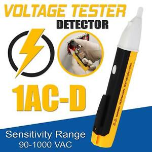 Ac Electric Voltage Tester Volt Alert Pen Detector Sensor 90 1000v Dx D Meter Uk