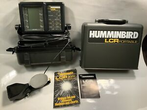 Humminbird LCR 2000 Portable Fishfinder Fishing Finder manuals Untested