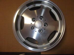 Rare 16 Ronal For Lorinser Rs R129 W124 W201 Nos Rear Wheel