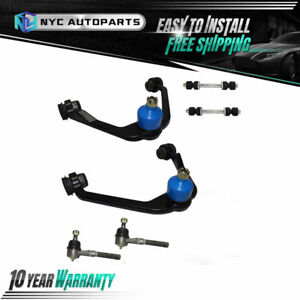 Front Upper Control Arm Tie Rod Sway Bar Link For Expedition F 150 F 250 2wd