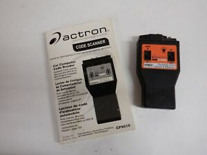 Actron Ford Code Scanner Cp9015ck