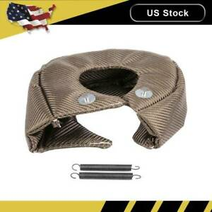 Heat Blanket Shield Barrier Turbo Charger Cover T4 Gt40 Gt42 Gt45