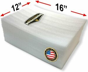 50 Pack Of Mighty Gadget r Large 16 X 12 Foam Wrap Sheets Safely Wrap