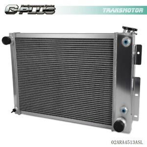 Performance All Aluminum Cooling Radiator For 1968 1969 Chevy Camaro