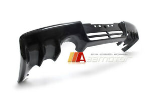 Carbon Fiber Rear Bumper Diffuser Fit For Mitsubishi Lancer Evolution X Evo 10
