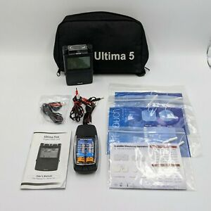 Ultima 5 Digital Tens Unit With Electrode Pads Leads Manual And Battery Charger