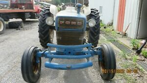 Ford 4000 Tractor Ran Checked Drives operates noisey Engine Remote db toplink