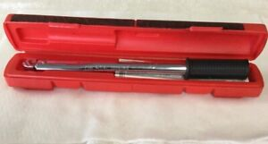 Snap On 3 8 Inch Torque Wrench Model Qp2100b 35 Ft Lbs