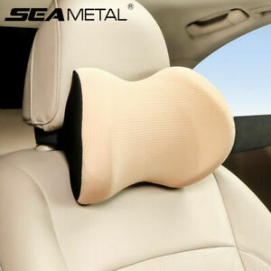 1pc Memory Foam Car Seat Neck Pillow Headrest Pad Neck Head Rest Support Cushion