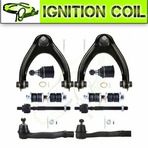 10pcs Front Suspension Kit For 1996 2000 Honda Civic Excludes Si Models