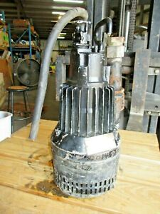 Flygt 1 6 Hp Submersible Pump 1 1 2 820145j Used