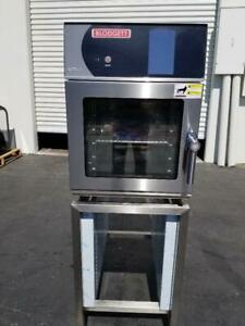 Blodgett Blct 6e Single 6 Pan Mini Boilerless Combi Oven Steamertouch screen