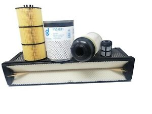 Freightliner Cascadia Dd Series Oil Air Fws And Fuel Filter Kit 13 Up