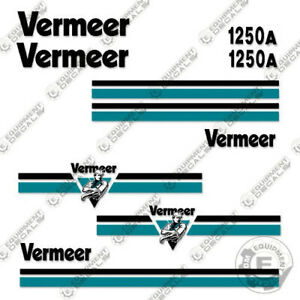 Vermeer Bc1250a Decal Kit Brush Chipper Replacement Stickers 3m Vinyl
