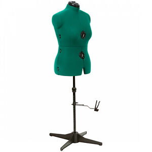 Female Adjustable Mannequin Dress Form Full Body Stand Medium Precise Sewing