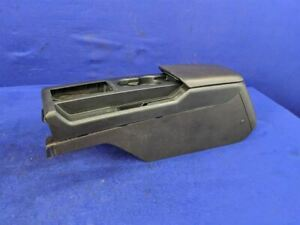 2008 2009 Ford Mustang Bullitt Driver Leather Center Console Arm Rest Cup Holder