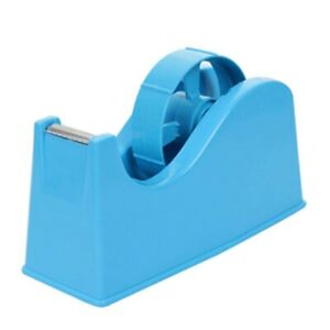 2x desktop Tape Dispenser Adhesive Roll Holder With Weighted Non Skid Base S2n2