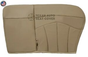 1999 Ford F150 Lariat 2wd Passenger Bench Synthetic Leather Seat Cover Tan 60 40