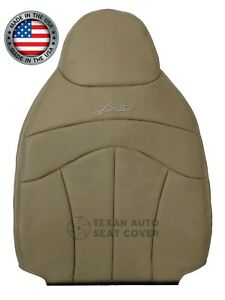 1999 Ford F 150 Lariat Driver Side Lean Back Synthetic Leather Seat Cover Tan