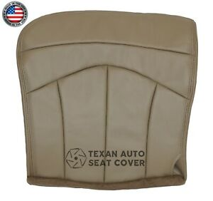1999 Ford F 150 Lariat 2wd Driver Side Bottom Synthetic Leather Seat Cover Tan