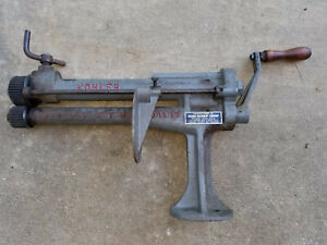 Ingram Mfg Picher Ok Model Kohler Sheet Metal Slitter Crimper Roll Former Tool