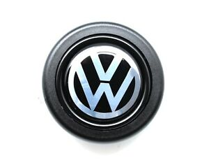 Horn Button Vw Wolfsburg Golf Beetle For Momo Omp Sparco Steering Wheels