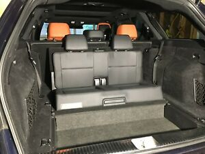 Mercedes E63 S212 Wagon Third Row Seat Assembly E63s Black Leather Rear Facing