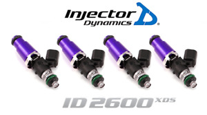 Injector Dynamics 2600 xds Fuel Injector 4pc 60mm For Genesis G20 Sky Ion